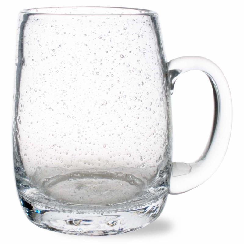 Tag Bubble Glass Beer Mug QUE299-1