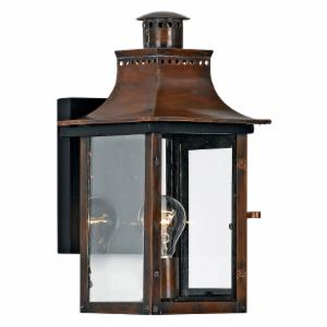 Quoizel Chalmers CM8408AC Outdoor Wall Lantern