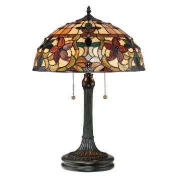  Quoizel Kami TF878T Table Lamp - 16W in. - Vintage Bronze