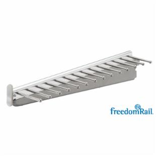 freedomRail Sliding Tie & Belt Rack