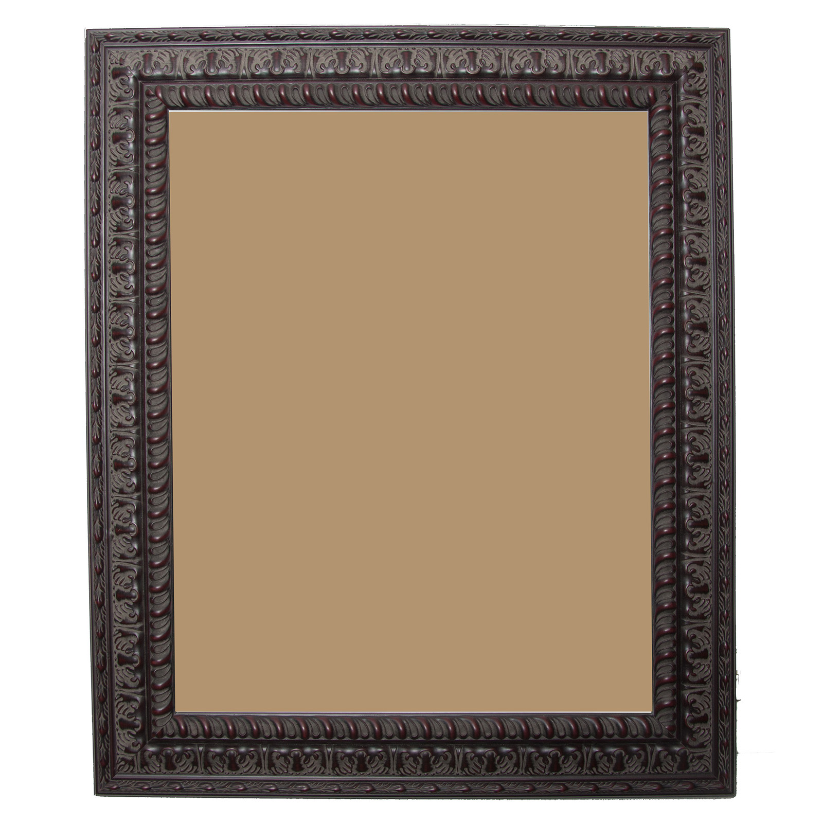 Rayne mirrors dark embellished frame picture frames at for Embellished mirror frame