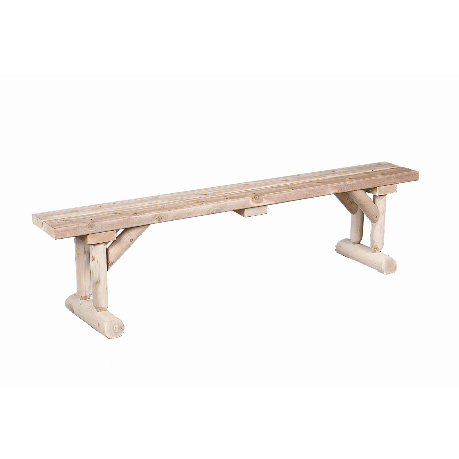 Rustic Natural Cedar Furniture Old Country 6 Ft Dining Bench Indoor Benches At Hayneedle