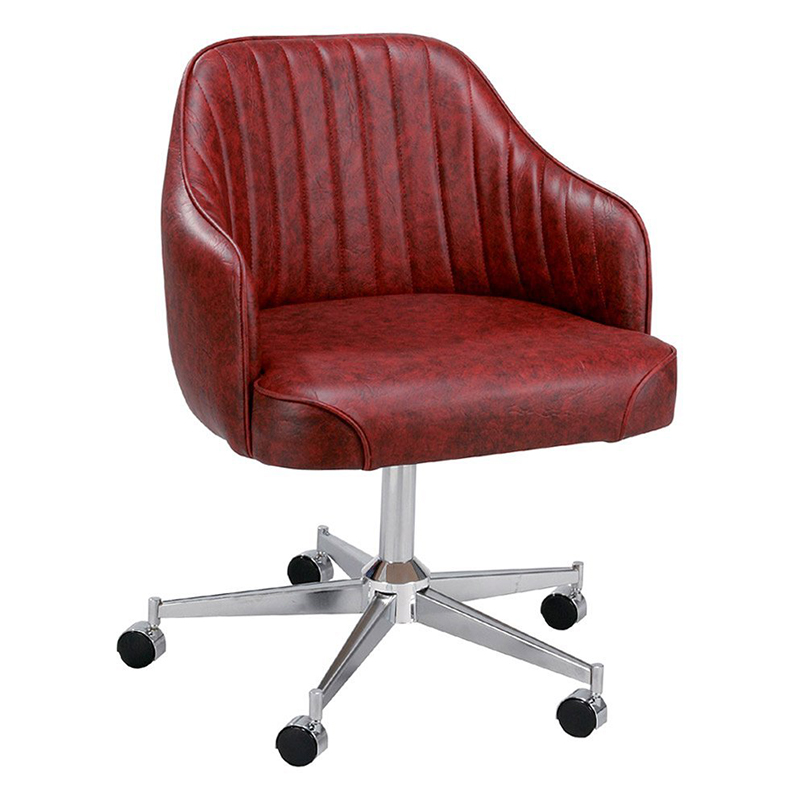 Regal Bucket Seat Standard Dining Chair With Arms On