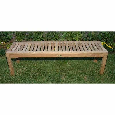5 ft. Teak Rosemont Backless Bench