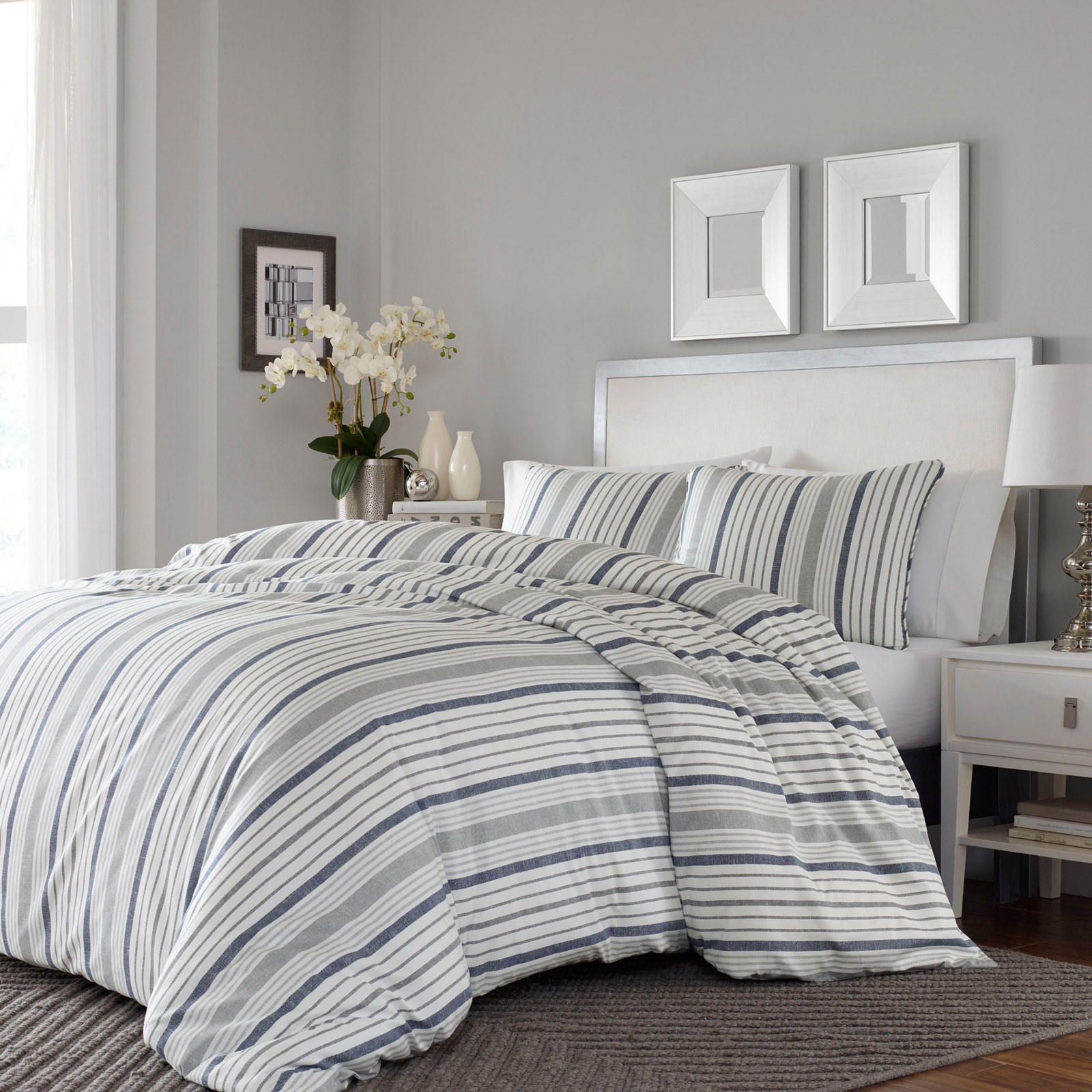 Conrad Duvet Cover Set By Stone Cottage Bedding And
