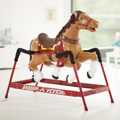 Radio Flyer Liberty Spring Horse with Sound Option