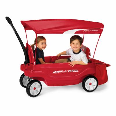 Radio Flyer Odyssey Ultimate Comfort Wagon