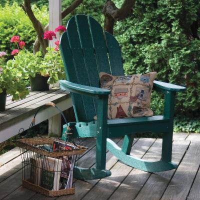  Great American Woodies Lifestyle Recycled Plastic Adirondack Rocker