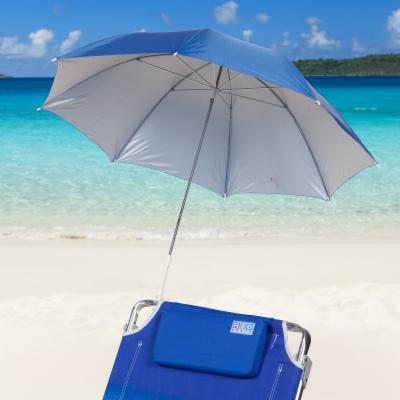 Rio Blue Clamp-On Beach Umbrella