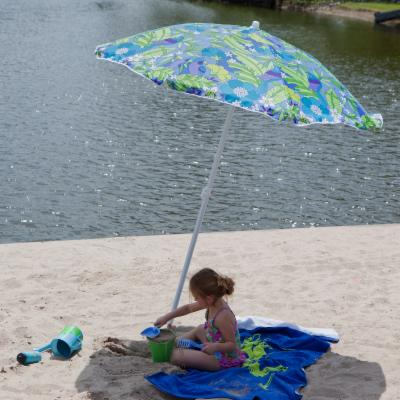 Rio Calypso Print Beach Umbrella