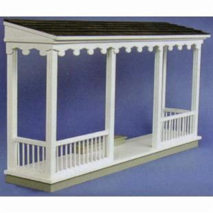 Real Good Toys QuickBuild  Farmhouse Porch Kit - 1 Inch Scale