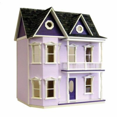  Real Good Toys Princess Anne Dollhouse Kit   1 Inch Scale