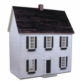 Real Good Toys Colonial Dollhouse Kit - 1/2 Inch Scale