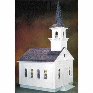 Real Good Toys Country Church Kit  - 1 Inch Scale