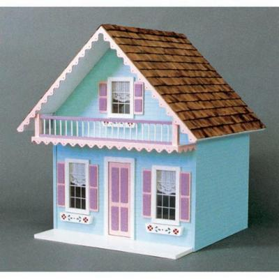  Real Good Toys Snow Country Chalet Kit   1 Inch Scale