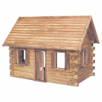  Real Good Toys Crockett Log Cabin Kit   1 Inch Scale