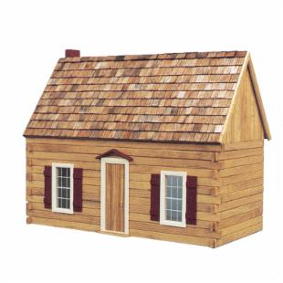 Real Good Toys Blue Ridge Cabin Kit - 1 Inch Scale