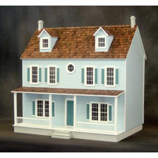 Real Good Toys Lancaster Dollhouse Kit in Milled MDF