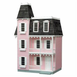 Real Good Toys Finished Alison Dollhouse - Pink