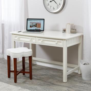  Casey Writing Desk - White