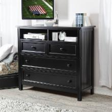 Casey Media Chest - Black