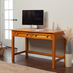 Casey Writing Desk - Honey Maple