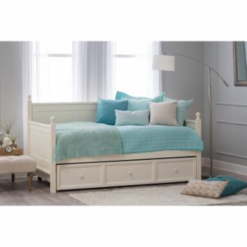 Casey Daybed - White - Free Mattress