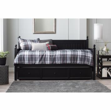 Casey Daybed - Black - Free Mattress