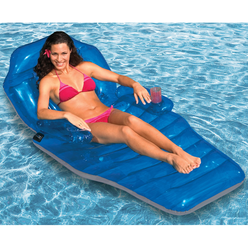 Poolmaster Adjustable Chaise Floating Lounge Swimming