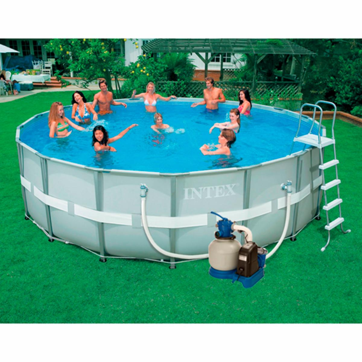 Intex Ultra Frame Pool 16 X 4 Ft Swimming Pools Supplies On Popscreen