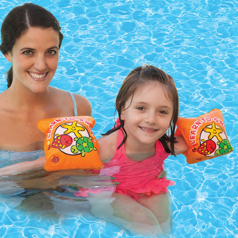 Poolmaster Learn To Swim Arm Floats Swimming Pool Floats