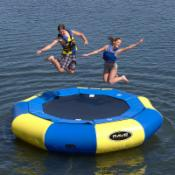  12 ft. RAVE Sports Aqua Jump Eclipse Water Trampoline Package