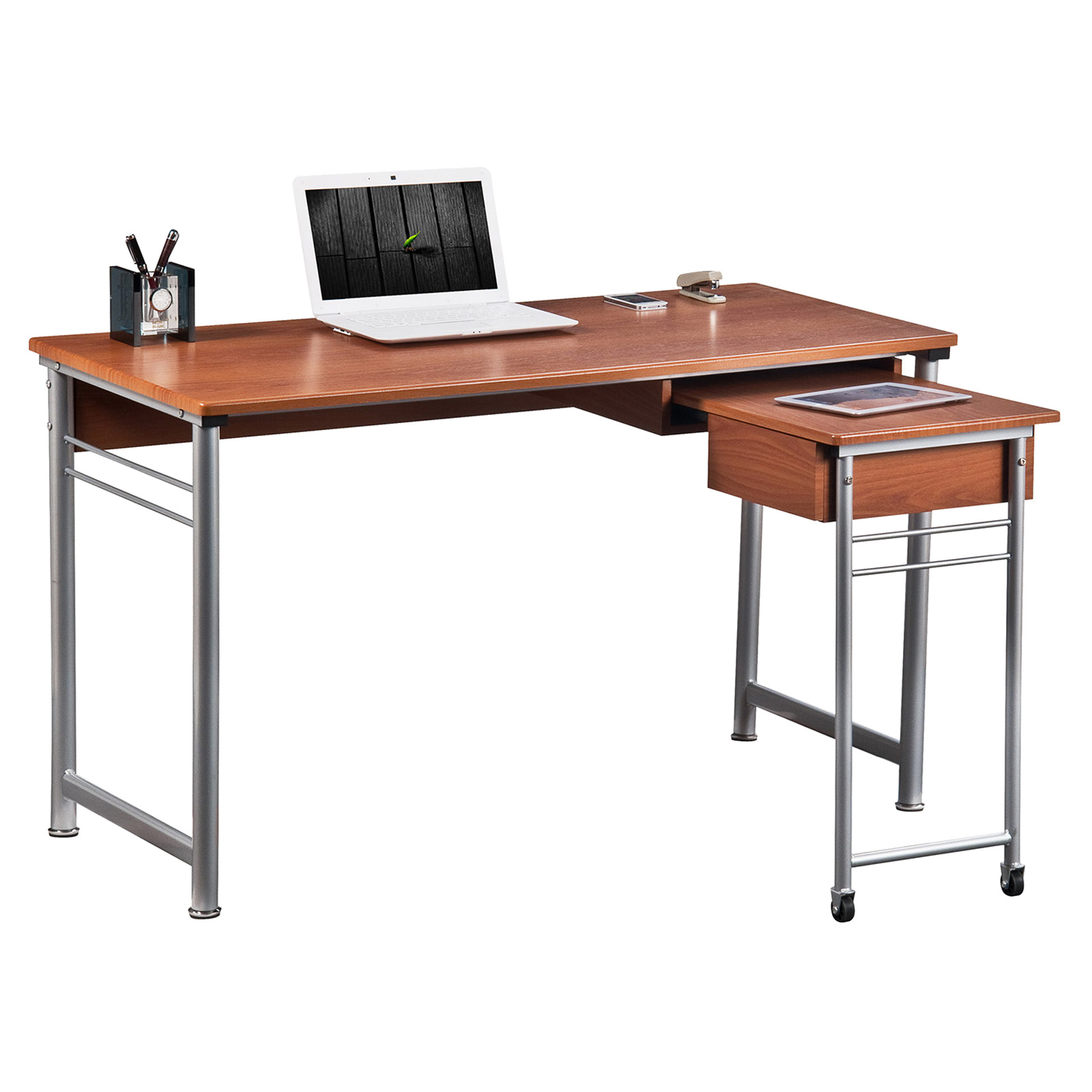 Techni mobili rta 224r retractable desk at hayneedle for Center mobili outlet