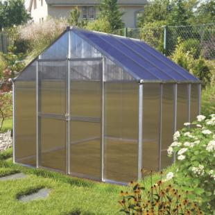 Riverstone Industries Monticello 8 x 8 ft. Greenhouse