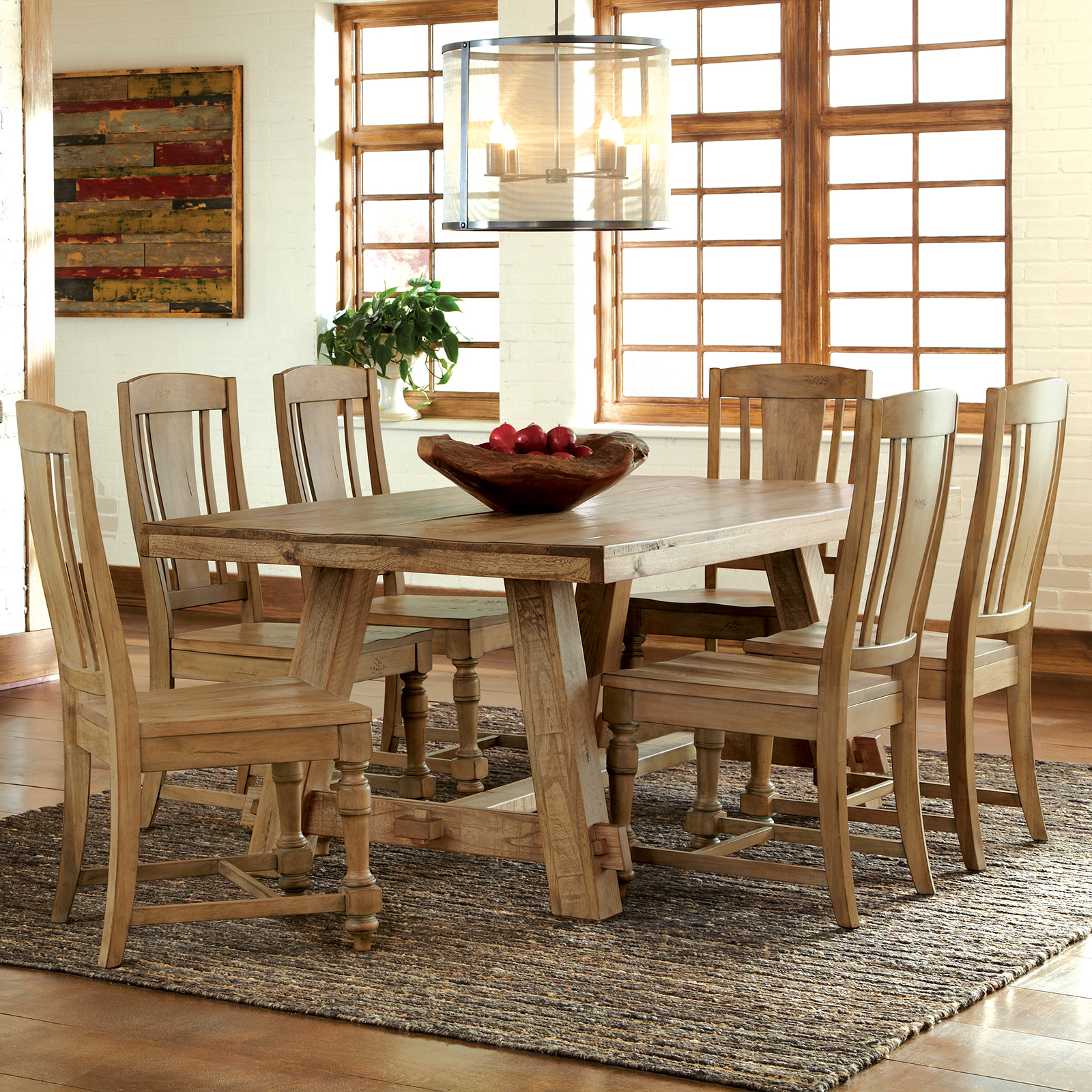 Ridgedale 7 Piece Dining Table Set with Splat Back Chairs  : masterRVS2356 from www.hayneedle.com size 1600 x 1600 jpeg 605kB