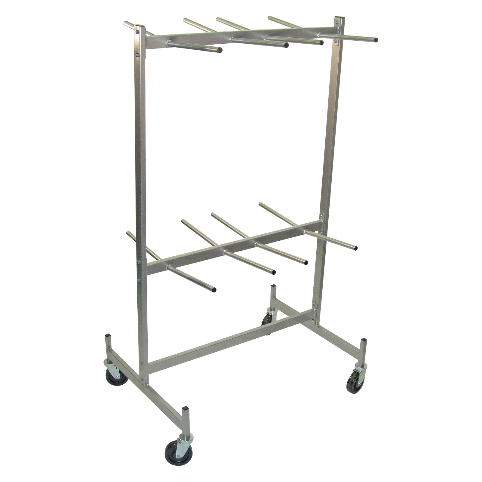 raymond products hanging folded chair storage truck for
