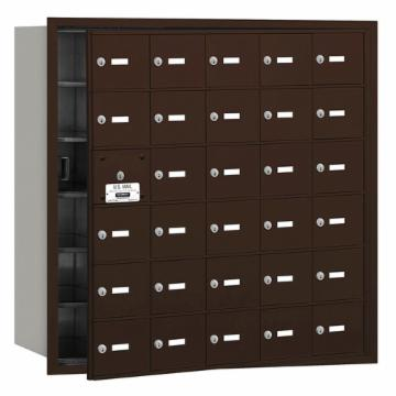 Salsbury Front Loading 4B+ Horizontal Mailbox with 30 A-Doors