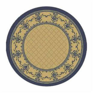 Safavieh Courtyard 0901 Indoor/Outdoor Area Rug - Blue