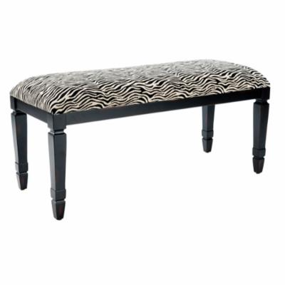 Safavieh Mona Zebra-Print Bench