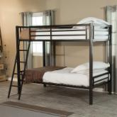  Duro Hanley Twin over Twin Bunk Bed - Black