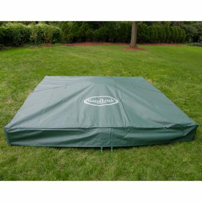 SandLock Sandbox Vinyl Cover   10L x 10W ft.
