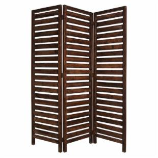 Fortress Solid Pine Wood Room Divider