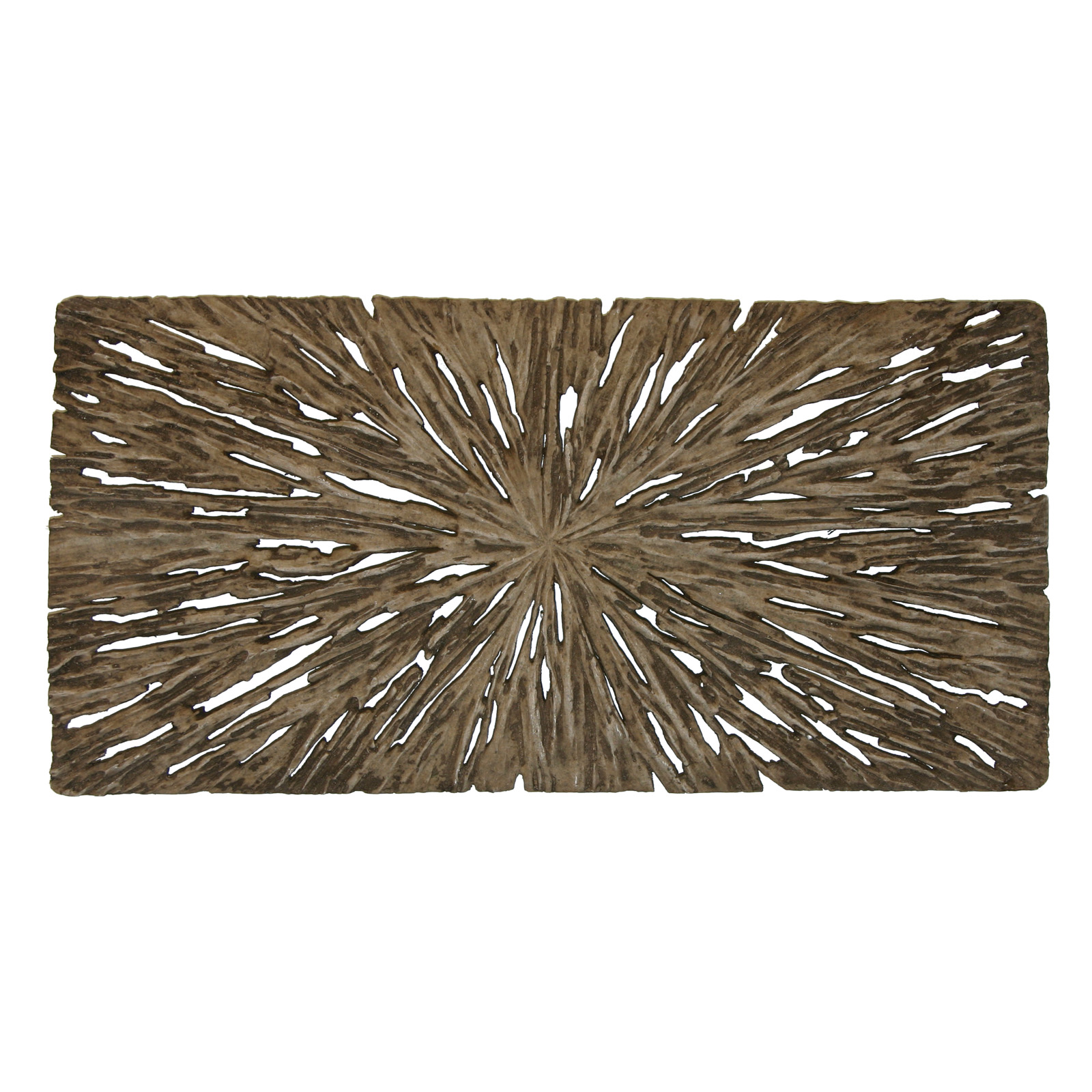 long rectangle rotten wood wall art set of 2 wall art