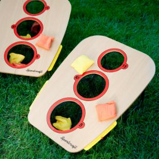 SportCraft 3 Hole Bean Bag Toss Set