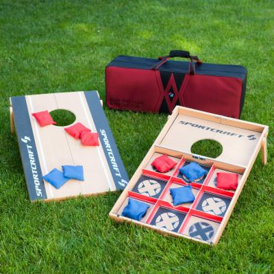  Sportcraft Cornhole/Tic Tac Toe Combo Game