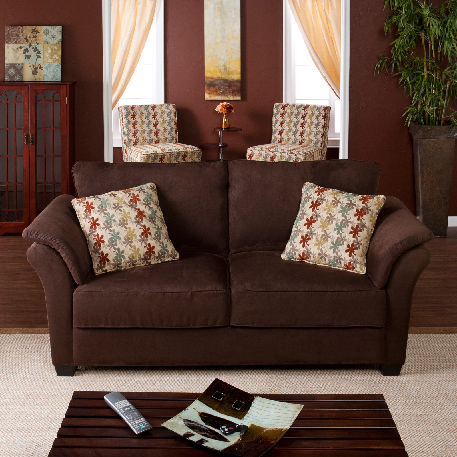 Pillow For Dark Brown Couch