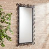 Teague Decorative Metal Mirror - 27W x 47.25H in.