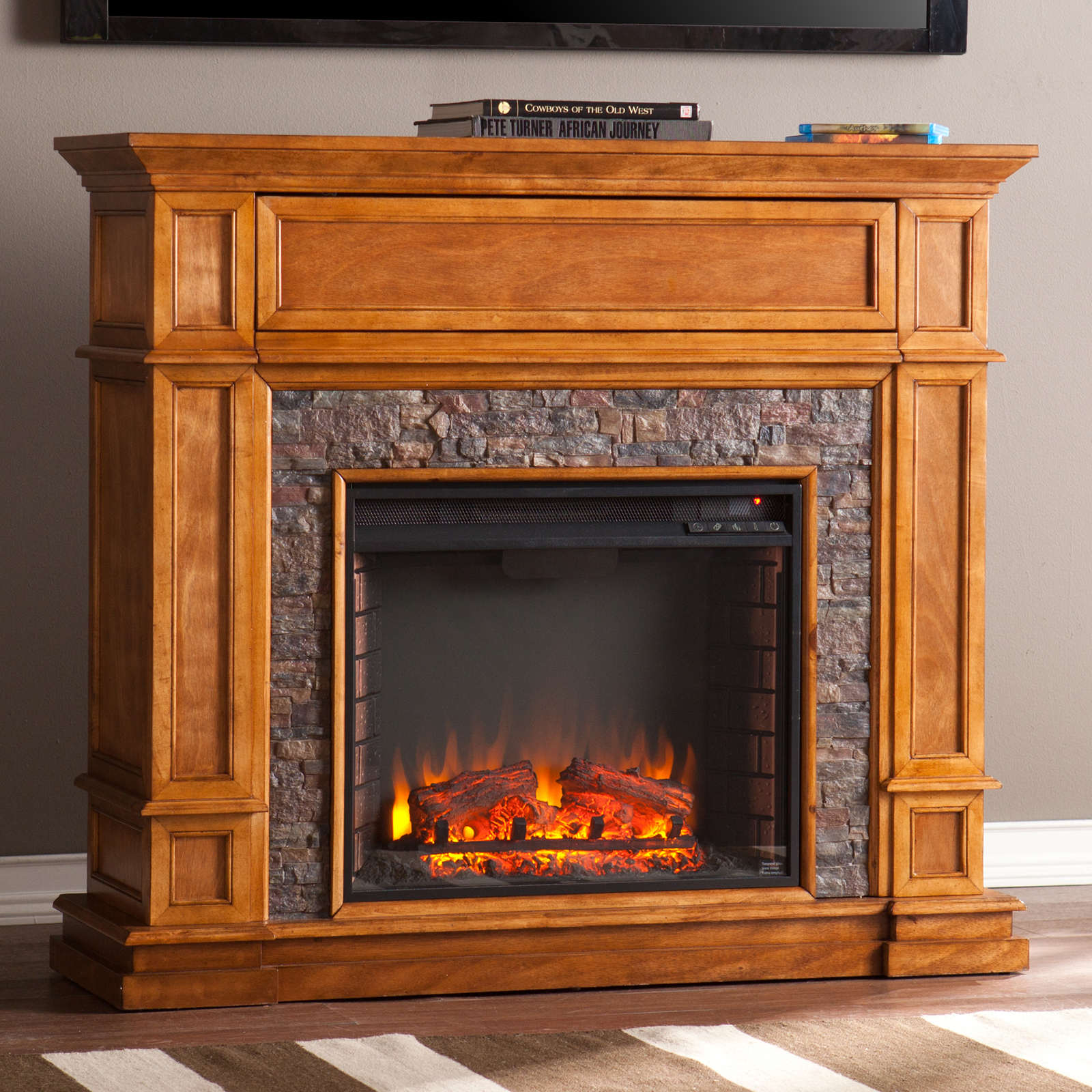 Southern Enterprises Belleview Electric Fireplace Fireplaces At Hayneedle