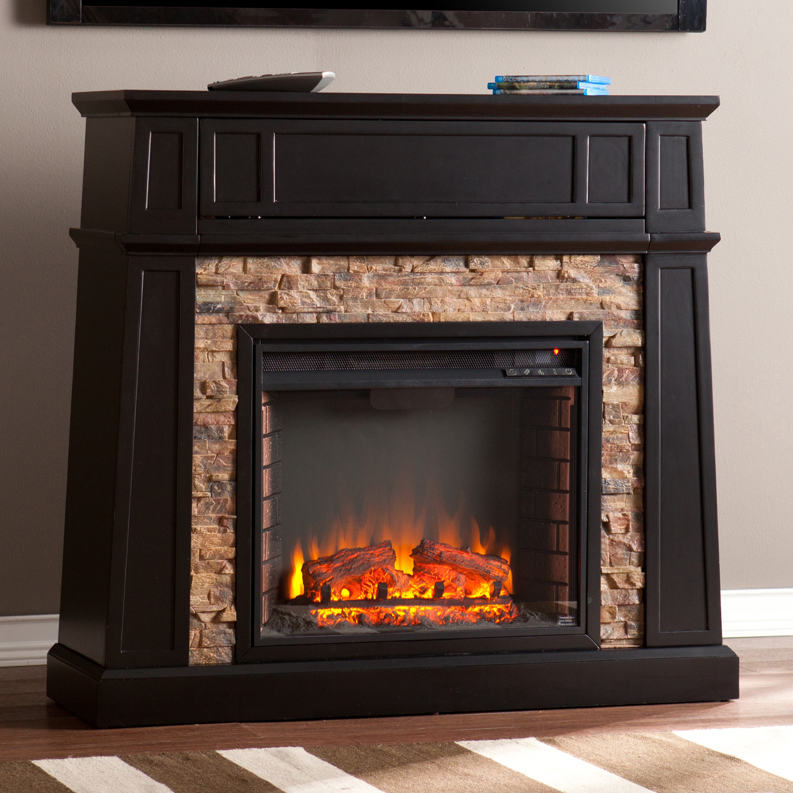 Southern Enterprises Crestwick Electric Fireplace Fireplaces At Hayneedle