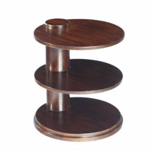 Selamat Designs Cuban Teak End Table-3 Tiered